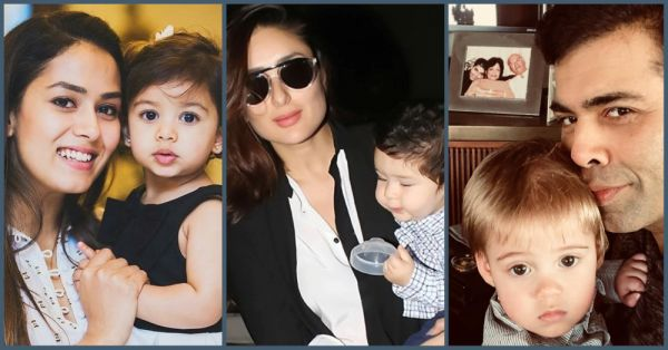 Esha Deol's Radhya, Kareena's Taimur & All The Bollywood Babies We Can't Get Enough Of!