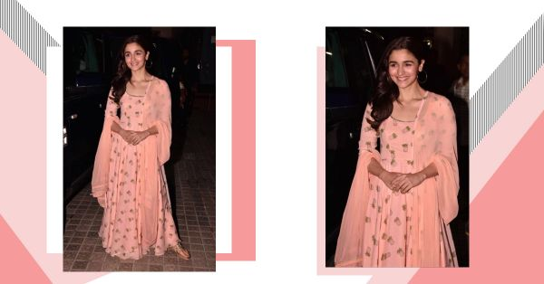 Alia Bhatt Got Her *Raazi* Screening Outfit Stitched By Her Masterji... We Know Why