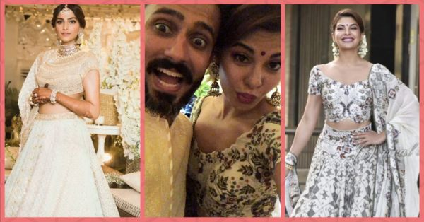 Jacqueline Is Posting The Cutest Stuff From Sonam's Sangeet & It's Like Every Girl At Her Bestie's Shaadi!