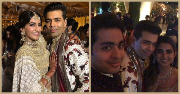 #PartyLikeKJo: Karan Attended Sonam's Mehendi & Isha Ambani's Engagement, All In A Day