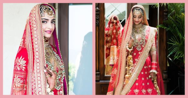 Enter The Blushing Bride: A Sneak Peak Into Sonam Kapoor's Wedding Look