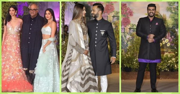 Keeping Up With The Kapoors: ALL The Looks From Sonam Kapoor Ahuja's Reception!