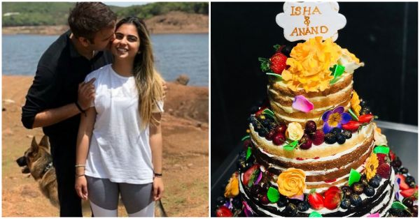 Three Tiers To Isha Ambani: Her Last-Minute Engagement Cake Was Absolutely Gorgeous!