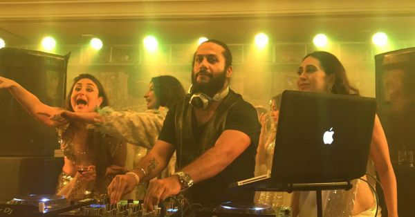 Bebo Was At The DJ Console ALL Night At Sonam's Reception - Those Moves Tho!