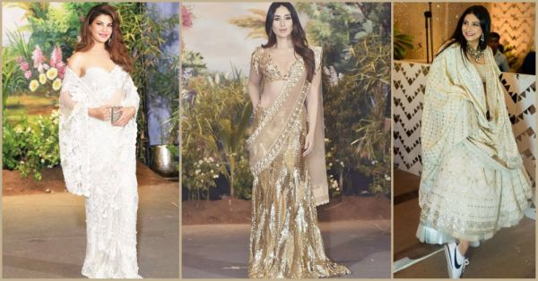 Sneakers With Lehenga & Plunging Necklines: 8 NEW Trends We're Loving From #SonamKiShaadi!