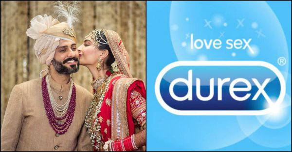 Durex Just Wished Sonam & Anand On Their Wedding & It'll Have You LOLing All Day Long!