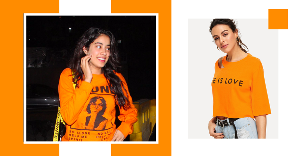 Janhvi Kapoor's *Tee* Party Is Every College Girl's Dream!