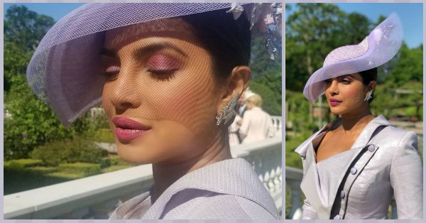 #SheCouldBeRoyal: Priyanka Chopra Arrives At The Royal Wedding Looking Like A Lilac Fantasy!