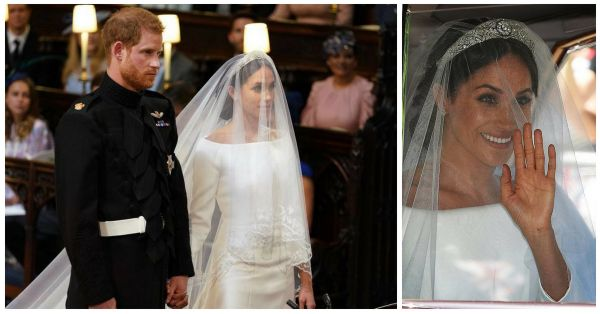 Meghan Markle Looked Like A Princess Right Out Of Our Dreams On Her Wedding Day!