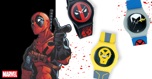 We're Crushing On These Deadpool Watches That Are Trending This Week