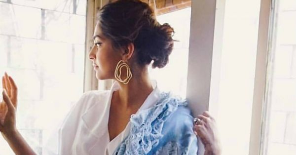 Did Sonam Kapoor Take Ripped Denim Too Far With This Saree?