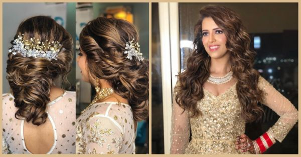 Move Over Cliched Buns: 7 Pretty Hairstyles That Are Perfect For Your Reception Look!