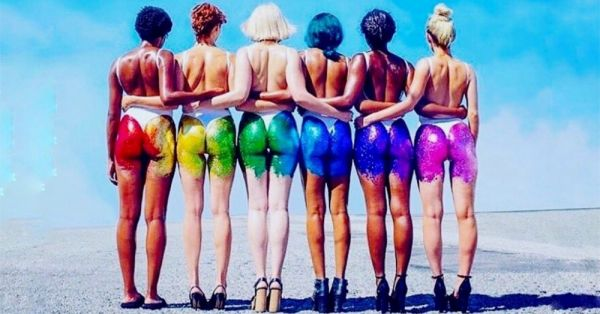 Bringin' Booty Back : This Risque Glitter Trend Is STILL Here!