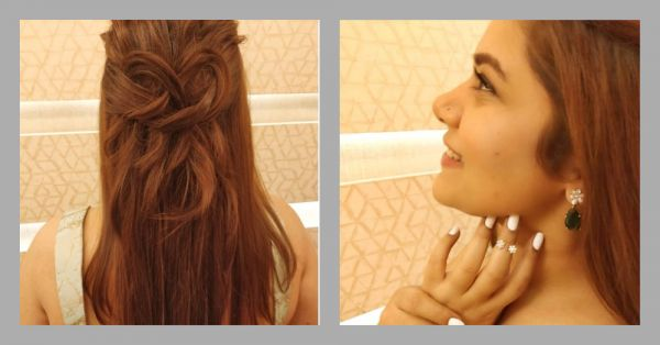 Hairstyle Diaries: Shikha Talsania Wears Her Heart On Her Head