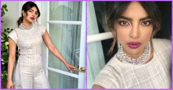 Priyanka Chopra's Long Lashes And Berry Lips Made Our Weekend Even More Beautiful!