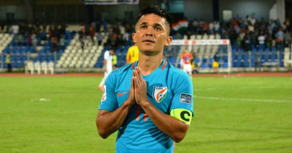 Sunil Chhetri Thanks Fans For A Packed Stadium & Wins A Million Hearts!