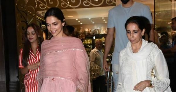 Deepika Padukone Spotted Shaadi Shopping With Mom Ujjala For Her November Wedding!