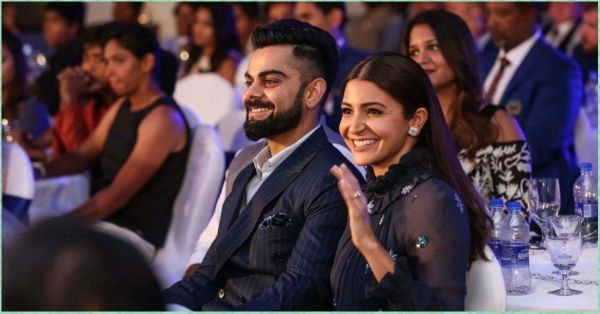 Virat Mentioned Anushka In His Award Acceptance Speech & It's Making Our Hearts Flutter!