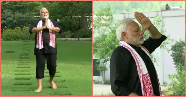 PM Modi Accepts Kohli's Fitness Challenge, Posts Video Doing Yoga On Twitter