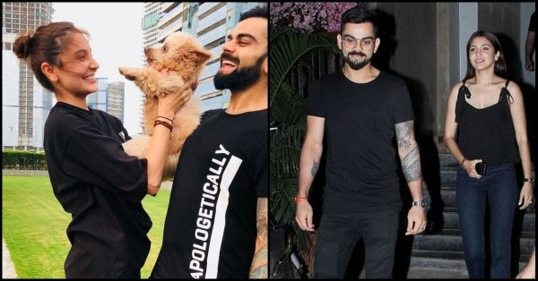 Virat And Anushka Twinning On Date Night Is Every Married Couple Ever