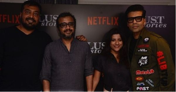 B-Town Celebs Get Together For The Screening Of Lust Stories And We've Got All The Pics!