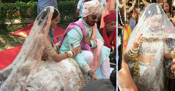 Rubina Dilaik Entering Her Wedding Venue Dancing To 'Laung Gawacha' Is Pure Gold!