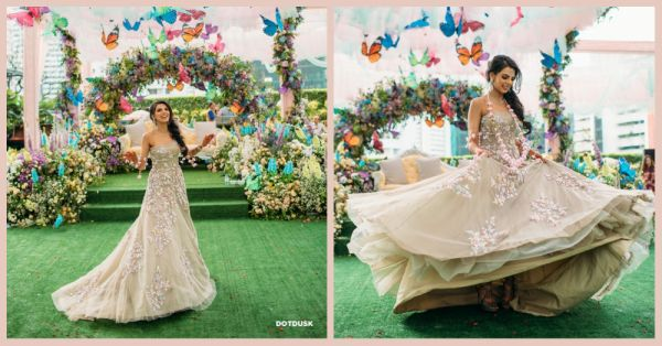 Batmobile, Butterflies, LED Sneakers & Gorgeoussss Outfits... This Wedding Had EVERYTHING!