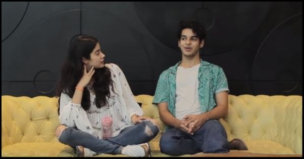 Ishaan Khatter & Janhvi Kapoor's Camaraderie In This Video Is Like Every Couple Ever