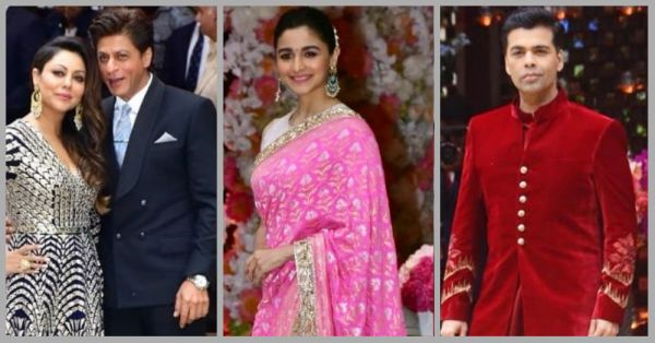 The First Pictures From Akash Ambani & Shloka Mehta's Engagement Party!