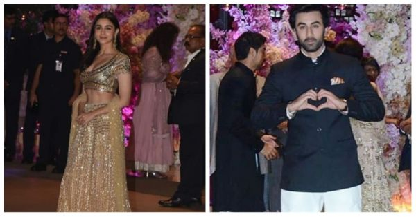 Ranbir Kapoor, Alia Bhatt, SRK, Karan Johar & Other Celebs Arrive For The Grand Ambani Engagement