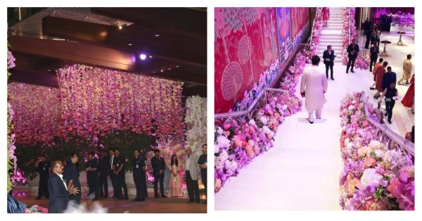 See Pics: Ambani's Million Dollar Home Is All Decked Up For Akash-Shloka's Engagement
