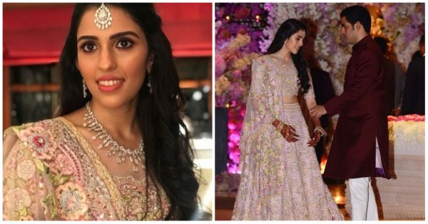 Here Comes The Bride: Shloka Mehta's Look From Her Engagement Is Pretty In Pink!