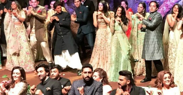 The Flash Mob At The Ambani Engagement Had The Entire B-Town Grooving!
