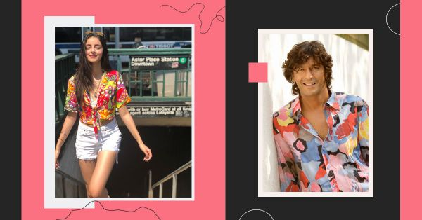Ananya Panday Did An 80s Ditto With Daddy Chunky While Vacationing In NY!