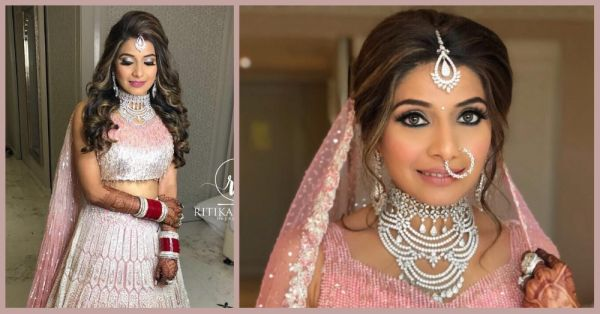 This Manish Malhotra Bride Proved That No Amount Of Bling Is Too Much On Your Wedding Day!
