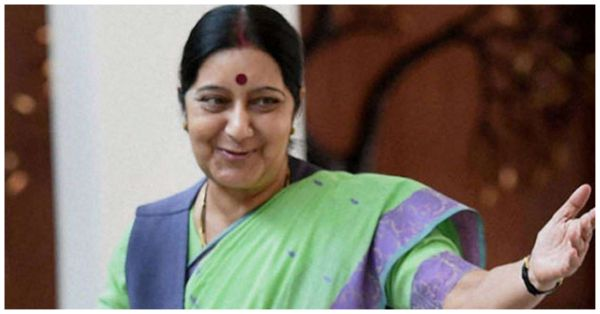 Sushma Swaraj Just Shut Down A Troll In The Best Way Possible!