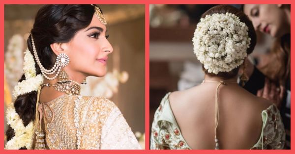 14 Beautiful Ways To Style The Traditional Gajra On Your Wedding Day!