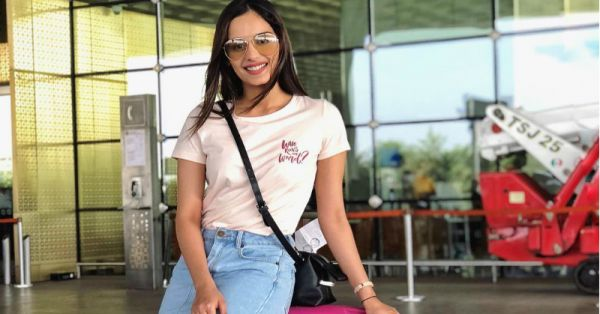 Manushi Chillar's Travel Companion Is A Gucci Handbag & The Cutest Boy In The World!