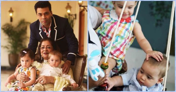 13 Aww-dorable Pictures Of Karan Johar's Twins For A Happy Start Of The Week