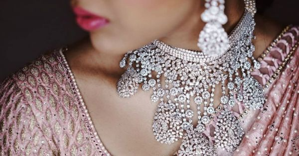 This Billionaire Bride Wore Only Diamonds At Her Wedding... A *Lot* Of Diamonds!