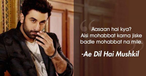 7 Ranbir Kapoor Dialogues For Every Person Who Has Ever Had Their Heart Broken