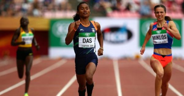 #SoProud: Amazing Things You Did Not Know About 18-Year-Old Athlete Hima Das!