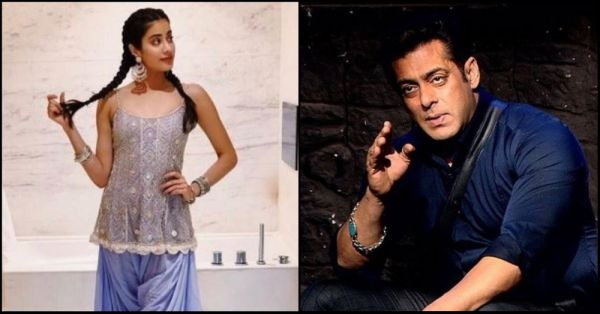 Janhvi Kapoor's Most Embarrassing Childhood Memory Involves Salman Khan!