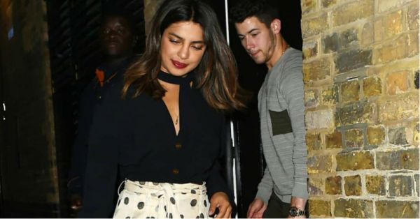 Priyanka Chopra Brought In Her Birthday Last Night With Polka Dots & Nick Jonas!