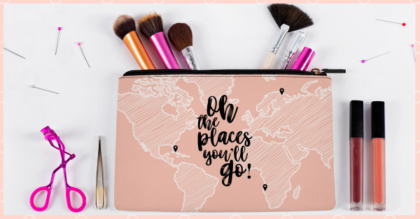 Makeup Pouches SO Cute You'll Want To Show Them Off Wherever You Go!