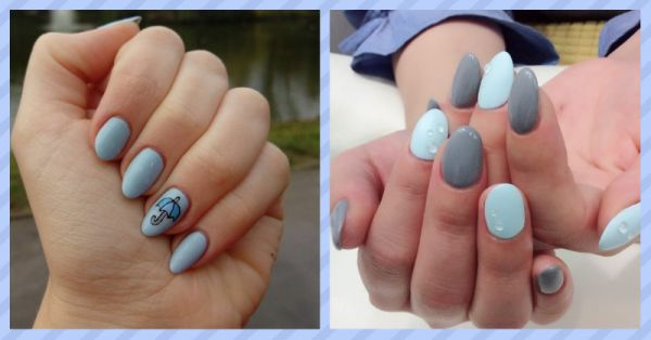 9 Monsoon Inspired Nail Art Styles You've Got Try This Rainy Season