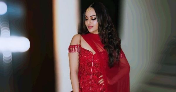 Sonakshi Sinha Shows Us How To Wear Red For A Wedding That's Not Your Own!