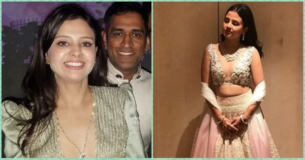 Sakshi Dhoni's Plunging Necklines At Her BFF's Shaadi Made Us Go 'Woot Woot!'