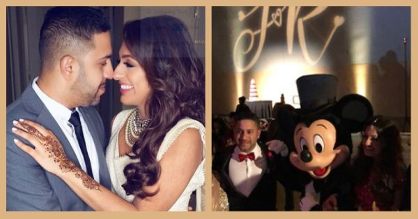 An Indian Wedding Took Place At Disney World & The Kid In Us Is Jumping With Joy!