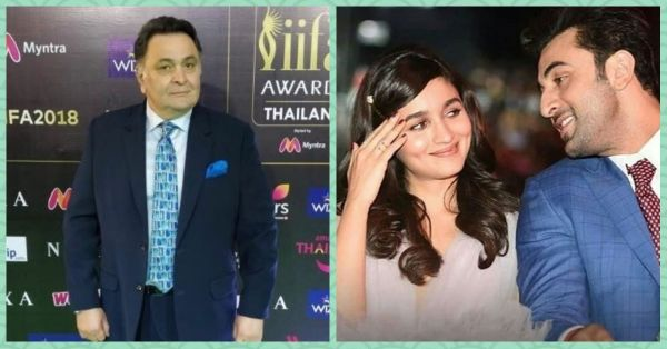 Rishi Kapoor Just Spoke About Ranbir-Alia And OMG, Do We Hear Wedding Bells?!